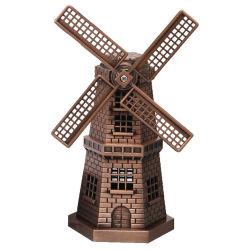 Handgemachte Harz-Windmühlen-Statue-Fertigkeit-touristischer Arbeitsweg-Andenken-Ansammlung