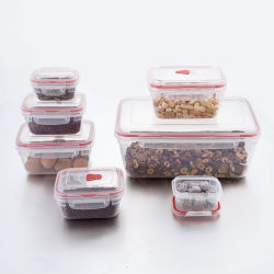 L'alimentation boîte à lunch ensemble hermétique en plastique des contenants alimentaires de stockage