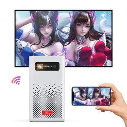 Lien 1080p Full HD LED DLP 멀티미디어 양방향 모바일 미니 포켓 휴대용 포켓 비디오 프로젝터