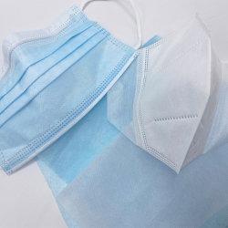 中国用使い捨てフェイスマスク素材 100% ポリプロピレン製非織布