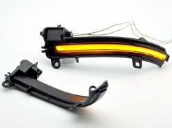 أجزاء السيارة الصمام ضوء المرآة الجانبية ضوء LED ضوء المصابيح ضوء المصابيح ضوء المصابيح ضوء المصابيح ضوء المصابيح ضوء ديناميكي لسلسة BMW F30 1، 2، 3، 4 Series X1