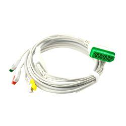 La solution BSM-2300 BSM-4100 Nihon Kohden Dérivations ECG 5 fils Grabber