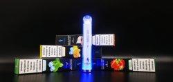 Puff XXL 1000 E luz intermitente de cigarros Cachimbos E-CIG fumaça luz RGB brilhante vaporizador electrónico Caneta Vape descartáveis