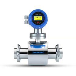 جهاز استشعار تدفق الحليب من جهاز قياس شدة التيار ثلاثي الأسعار RS485 Food Grade