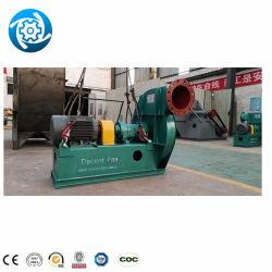 Les pales du ventilateur incurvée Four le ventilateur de circulation des gaz de combustion de la poussière à faible bruit Extracteur roue du ventilateur