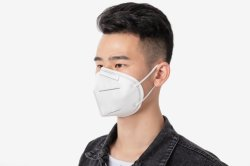 N95 KN95 Masque FFP2 Facial respirateur jetable robe PPE les particules de poussière des prix de gros protecteur facial