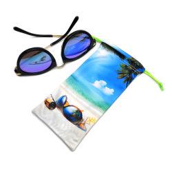 사용자 지정 로고 인쇄 극세사 안경 선글라스 파우치 안경가방