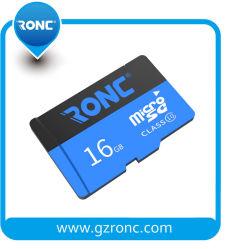 ذاكرة بطاقة Micro SD بسعة كاملة 100% في الوقت الحقيقي سعة 16 جيجابايت البطاقة