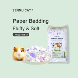 Kleine huisdieren Paperbeddengoed zacht gezellig