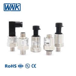 Salida 4-20 mA 0.5-4.5V del sensor de presión de agua de gas para aire