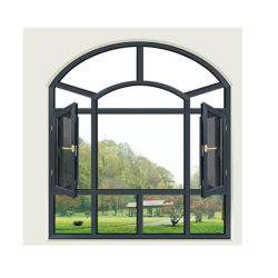 G&C Fuson fenêtre en aluminium avec Crescent de blocage et verre de brouillard