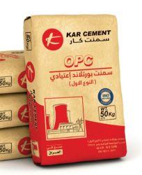 타일 글루 파우더 건식 빈 PP 다중 레이어 크라프트 용지 밸브 패키지 백 25kg 가방