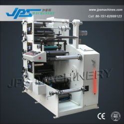 Vierfarben-Flexo-Druckmaschinen für Kunststoff-BOPE/BOPP/PP/Pet/OPP/PE/PVC transparent Folie Sticker Rolle