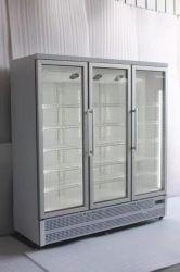 Пробка в коммерческих целях в вертикальном положении вертикальной охладитель и морозильной камере стекло двери прилавок-витрина, SD-1450f