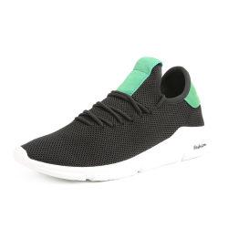China Estilista direto da fábrica de Malha aerada Preto Homem Casual Brand Customized Equipamento para engraxar os sapatos de desporto para venda