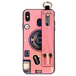 capa para telemóvel com câmara Retro Blu-Ray pendurado na corda 3D os amantes do suporte criativo tampa protetora para Meitu T9 V6 M8