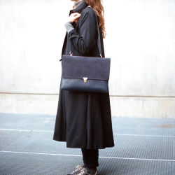 Estilo francês mulheres moda casual Mala a tiracolo em pele de camurça