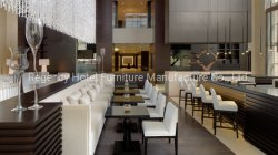 أبيض بناء نجادة مطعم كرسي تثبيت مطعم أثاث لازم لأنّ فندق إستعمال