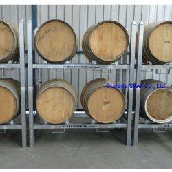 Acier galvanisé stable et durable pour les systèmes de vin Casiers fourreau Whiskey barils