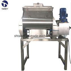 Los ejes horizontal doble mezclador de paleta para químicos en polvo o granulado