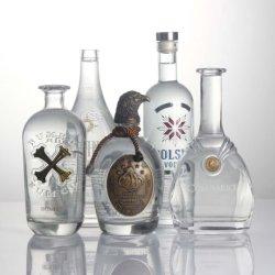 Distillati personalizzati Liquore Brandy Gin Tequila Whisky Vodka bottiglia di vetro