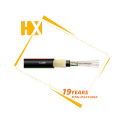 屋外のアンテナ24/36/48のコア単一モードの大きいスパン誘電性のSelf-SupportingネットワークADSSの光ファイバか光通信ケーブル
