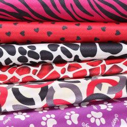 El respaldo de PVC de maletas y cuero satinado Bolsa de tela