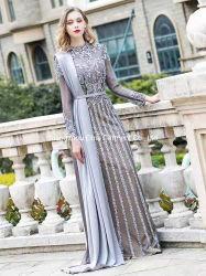2021 이슬람교 신도착 석재 성교 선교 이브닝 드레스 럭셔리 파티 드레스 브리드하디 가운 플러스 사이즈 핫