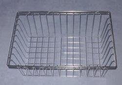 La stérilisation de métal en acier inoxydable panier en treillis métallique