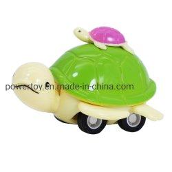 ترقية بلاستيكيّة صغيرة حيوان يسحب شكل إلى الخلف لعبة سيارة