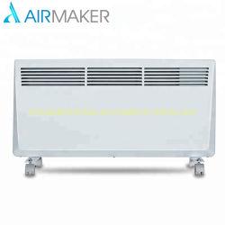 2000W de alta calidad panel de cristal eléctrico curvo Convector calefacción