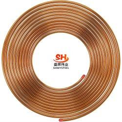 Высокое качество ASTM B280 кондиционер Катушки тарельчатого типа медных трубопроводов