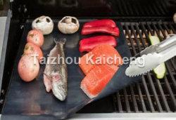 食品等級高温PTFEのガラス繊維BBQのグリルのベーキングマット