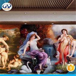 Carta da parati classica della pittura a olio del nuovo grande palazzo europeo 3D