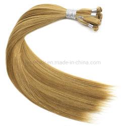 100% индийского Реми Silicone-Free Handtied Weft расширений волос