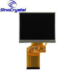 شاشة كاميرا TFT 24 بت بحجم 3.5 بوصة لضوء الشمس تعمل باللمس بدقة 320 × 240 Hx8238 وحدة شاشة عرض LCD للاستخدام في Aotumotive