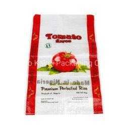 سعر تنافسي 50 كجم من البلاستيك PP المحبوك من الأرز حقيبة التعبئة