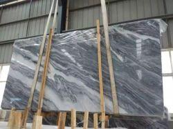 Chinois Nuvolato Bardiglio les dalles de sol en marbre gris
