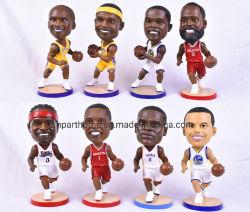 Les chiffres de la NBA Polyresin Bobble poupée tête de la résine de la série de figurines Custom