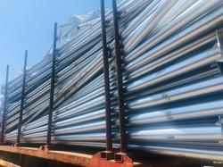 Fabricado en China fuentes globales poste de luz de fundición de aluminio, hierro fundido Farola