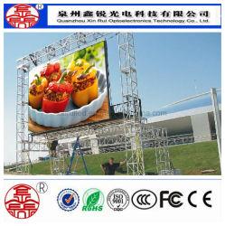 Hochwertiger P6 HD LED-Videobildschirm für den Außeneinsatz zur Anzeige von Mietanzeigen