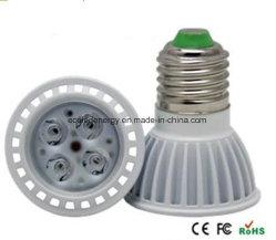 最上質のセリウムおよびRhos E27 4W LEDの点ライト