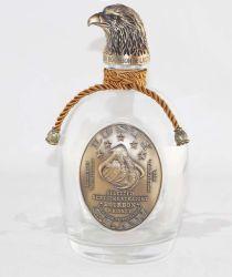 La botella de cristal personalizado, espíritus Botella, vaso de licor de vodka, whisky, frasco de botella y botella de Tequila