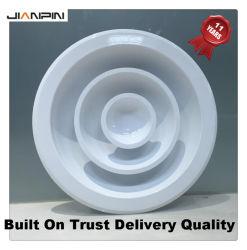 L'aluminium grille circulaire HVAC Plafond diffuseur d'air