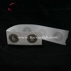 Contrassegno in bianco delle modifiche del chip dell'autoadesivo RFID di NFC per la scheda di /Hotel del biglietto di controllo di accesso