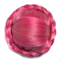 Personalizar múltiples dimensiones Chignon pelo sintético parte peluca