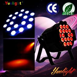 ضوء LED بمعدل عرض لكل بوصة في علبة نظام Yuelight 4in1 18PCS*10W RGBW
