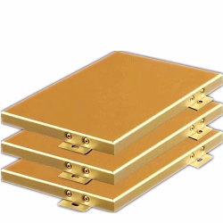 現代建築材料のアルミニウム壁のボード