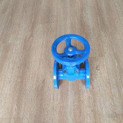 Ferro fundido de alta qualidade macia flange de vedação da válvula da tampa da Roda Direita