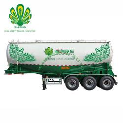 Réservoir de ciment en vrac de marque Shengrun camion-remorque Remorque